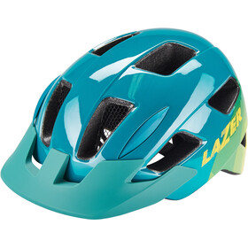 Lazer Gekko Casco con Red Insectos Niños, blue yellow